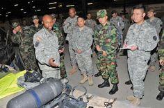 83rd Chemical Battalion cbrn   South Korean CBRN troops visit 20th SUPCOM CBRNE