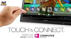 It's a TV, no – it's a monitor, no, it's a 22″ ViewSonic tablet!