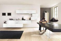 White and light #lagodesign #interiordesign #36e8kitchen #kitchen