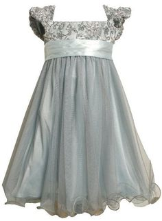 Bonnie Jean Girls 2-16 Sequin Bodice Empire Waist Dress (10, Silver) Bonnie Jean,http://www.amazon.com/dp/B00AOG0VLS/ref=cm_sw_r_pi_dp_zo72qb1CENPQHNSM