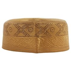 Cotton Blend Embroidery Muslim Prayer Men's Skull Cap Kufi avilable in different color
