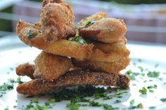 Funghi porcini della Valbormida impanati [Menù Ferragosto di @hotelbacco]