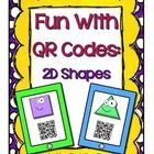 This is a scavenger hunt made with QR codes to use in your classroom.  Students will scan each QR Code with a scanning app on a smart device such a...