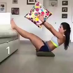 Full Body Hiit Workout, Gym Workout Videos, Abs Workout Routines, Gym Workout For Beginners, Fitness Workout For Women, At Home Workout Plan, Sport Fitness, Gym Workouts, At Home Workouts