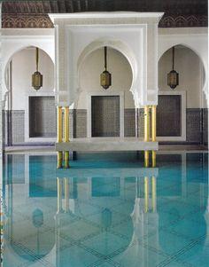 Hotel Marmounia pool_Marrakech
