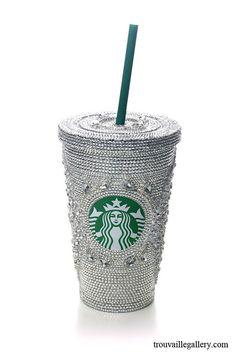 Swarovski Starbucks Cup / Mug 16oz 473ml  by TrouvailleGallery, $750.00