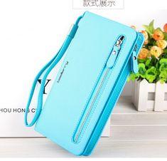 2a2b4beafa09 2016 female coin purse single zipper clutch bag ladies  wallets fashion  women s purses Handbags Free