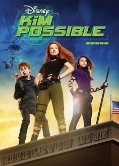 """Kim Possible Disney DVD Giveaway! Based on the global hit animated series, the live-action """"Kim Possible"""" Disney Channel Original! Disney Channel Original, Original Movie, Family Movie Night, Family Movies, Live Action Movie, Action Movies, Kim Y Ron, Streaming Vf, Streaming Movies"""