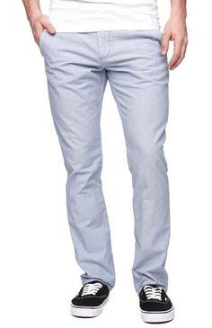 Bullhead skinny blue oxford pants