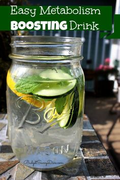Easy Metabolism Boosting Drink, #Drink, #Easy