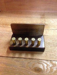 Bullet Business Card Holder
