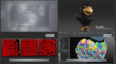 FLEX: General purpose feather system for Maya – Plugin Development ----------------------------------------------------------------------------- Technology:…