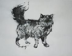空想/幻想画「小さな虎。」[N-EVA] | ART-Meter