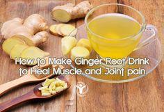 How to Make Ginger Root Drink #vedrinamostar @vedrinamostar