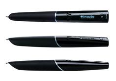 Lifescribe pen. Records notes and saves to computer.