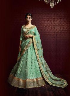 Indian Designer Partywear Sari Bollywood Dress Wedding Ethnic Saree Pakistani #KriyaCreation #LehengaSari
