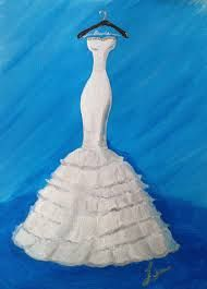 Get a picture of the wedding dress done all artistic-like! Maybe could use the painting to make bridal shower cards? Velvet Bridesmaid Dresses, Wedding Dresses, Wedding Painting, Dress Painting, Bridal Shower Cards, Dream Dress, Doodles, Portrait, Pictures