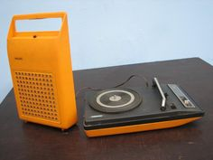 Toca-Disco Vitrola Portátil Philips