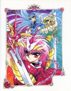 Another old fanart of Magic Knight Rayearth. I love the sfumato! Made with colored pencils MKR- Hikaru. Manga Artist, Comic Artist, Anime Manga, Anime Art, Tms Entertainment, Arte Sailor Moon, Magic Knight Rayearth, Haruhi Suzumiya, Xxxholic
