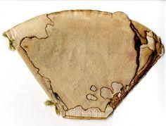 burned and stitched by sophia preka, via Behance