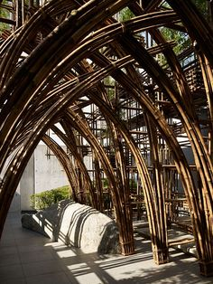 Bamboo Forest Exhibition Tokyo - Vo Trong Nghia Architects