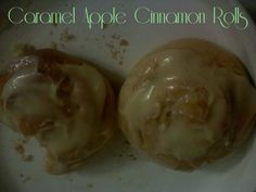 Confessions of an ADD Housewife: Christmas in July: Caramel Apple Cinnamon Rolls-