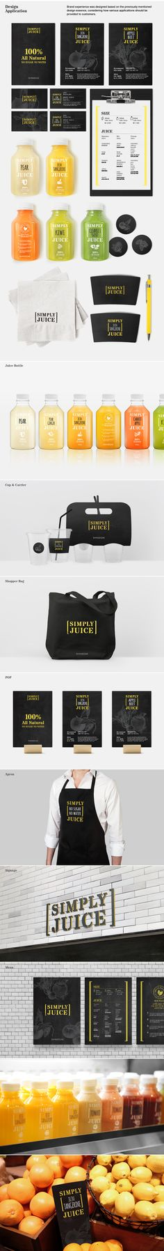 SHINSEGAE Simply Juice Brand eXperience Design on Branding Served