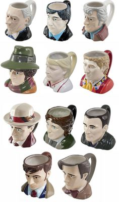 All the Doctors---as mugs. Put a little vodka in them for mug shots.