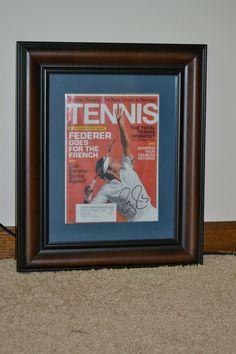 Roger Federer Autographed Signed Tennis Magazine