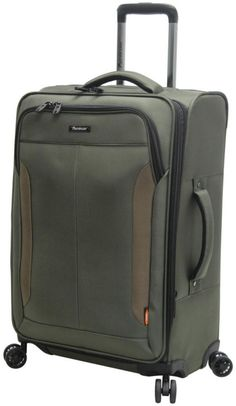 Pathfinder Luggage Px 10 28 Expandable Upright Spinner Sage