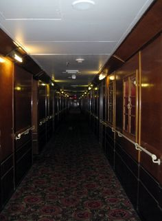 Queen Mary Ship Hauntings | The Queen Mary ship (which is now a hotel) in Long Beach, CA has a ...