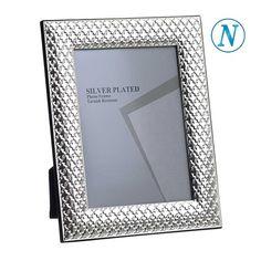 Κορνίζα απο ανοξείδωτο ατσάλι 13χ18 Silver Plate, Plating, Frame, Decor, Picture Frame, Decoration, Silverware Tray, Decorating, Frames