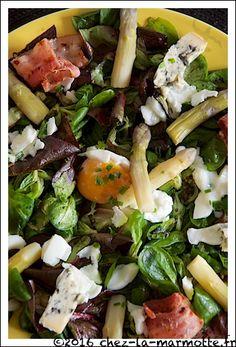 Salade aux pointes d'asperges   Marmotte cuisine !