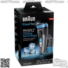 Braun Cool Tec Men's Shaving System 1 Kit for sale Best Electric Shaver, Electric Razor, Foil Shaver, Wet And Dry, Can Opener, Good Skin, Men's Shaving, Personal Care, Cleaning