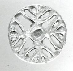 Compartmented stamp seal  Period:Bronze Age Date:ca. late 3rd–early 2nd millennium B.C. Geography:Bactria-Margiana Culture:Bactria-Margiana Archaeological Complex Medium:Copper alloy Dimensions:0.59 in. (1.5 cm)