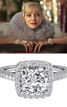 The Great Gatsby: Learn about Daisy Buchanan's Engagement Ring Style