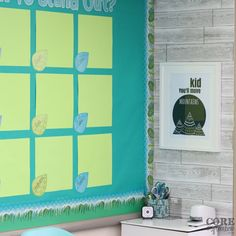 A calm corner of the classroom