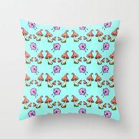 Throw Pillows by Luke Brabants | Society6