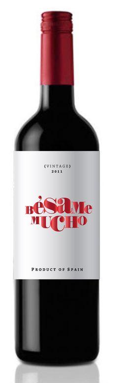 Fun, flirty & won't break the bank! Wine Bottle Design, Wine Label Design, Drink Labels, Wine Bottle Labels, Wine Logo, Spanish Wine, Bottle Packaging, In Vino Veritas, Wine And Spirits