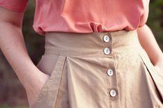 Button down skirt ;-)