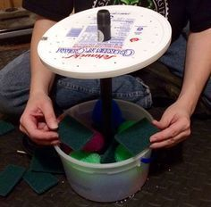 This DIY pond filter, made from a recycled ice-cream bucket & some scouring pads, costs less than $10 and goes together in minutes.