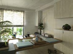 Impressive Modern Asian House by Tae Ha Interior Design . Asian Interior Design, Room Interior Design, Apartment Interior, Apartment Design, Asian Design, Contemporary Interior, Furniture Design, Design Oriental, Oriental Style