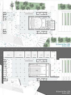 kolokyum.com - Galeri: 1. Ödül - Çankaya Belediyesi Başkanlık Hizmet Binası, Sanat Merkezi ve Ulvi Cemal Erkin Konser Salonu Ulusal Mimari Proje Yarışması