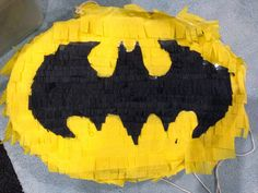 The Bake Files: DIY Batman Piñata