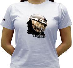 Camiseta Estado de Espírito - Baby-look