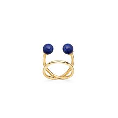 Lapis Yves Rings #midirings #rings #lapis #gold