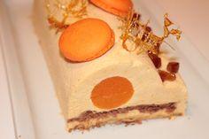Nuage de gourmandise...: BUCHE DE NOEL MANDARINE CARAMEL SALÉ