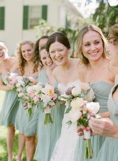 sage coloured bridesmaid dresses