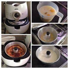 Pudim de Leite Condensado na AirFryer Dukan -  1 cx leite condensado.  A mesma medida de leite integral. 2 ovos.  Modo de Preparar  Bater tudo no mixer. Reserve. Para a calda, derreter 3 colheres de sopa de açúcar na própria forma de pudim. Despeje a mistura na forma caramelizada. Leve na airfryer 30 min. a 160 graus!