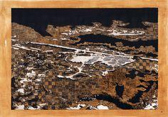 1956 Autor: Armando Martínez Cuadra Técnica: Tinta china, rotuladores y pintura sobre papel. Tamaño: 1.0 m x 70 cm. Año: 2013.